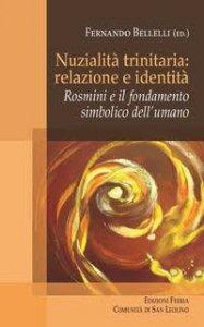 Copertina di 'Nuzialità trinitaria: identità e relazione'