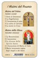 """Immagine di 'Card """"I misteri del rosario""""'"""