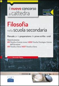Copertina di 'CC4/24 Filosofia nella scuola secondaria. Per le classi A18 (A036) e A19 (A037). Con espansione online'