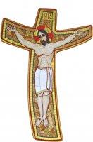 Immagine di 'Croce della Misericordia di Padre Rupnik cm 23x33'
