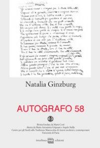 Copertina di 'Autografo. Natalia Ginzburg (2017)'