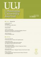 Urbaniana University Journal. 2020/3: Focus - Pensare Dio