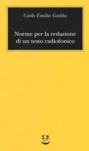 Copertina di 'Norme per la redazione di un testo radiofonico'