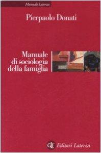 Copertina di 'Manuale di sociologia della famiglia'