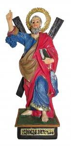 Copertina di 'Statua di Sant'Andrea da 12 cm in confezione regalo con segnalibro in IT/EN/ES/FR'