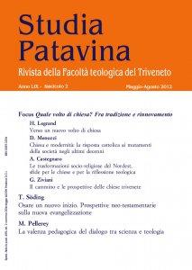 Copertina di 'Studia Patavina 2012/2'
