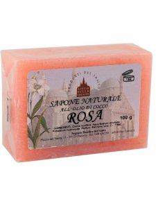 Copertina di 'Sapone naturale alla rosa 100 g.'