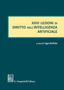 Copertina di 'Lezione di diritto dell'intelligenza artificiale'