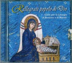 Copertina di 'Rallegrati popolo di Dio. Canti per la Liturgia di Avvento e di Natale'