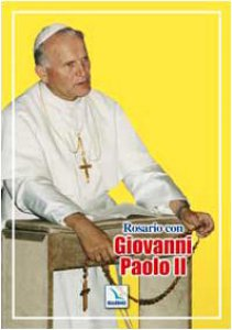 Copertina di 'Rosario con Giovanni Paolo II'