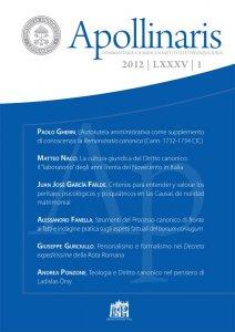Copertina di 'L'Autotutela amministrativa come supplemento di conoscenza: la Remonstratio canonica (Cann. 1732-1734 CIC)'