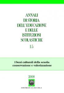 Copertina di 'Annali di storia dell'educazione e delle istituzioni scolastiche (2008)'