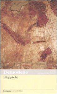Copertina di 'Filippiche. Testo greco a fronte'