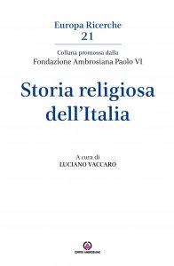 Copertina di 'Storia religiosa dell'Italia'