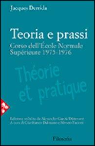Copertina di 'Teoria e prassi'