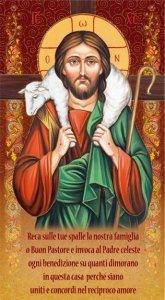 """Copertina di 'Benedizione della Famiglia """"Gesù Buon Pastore"""" - altezza 22 cm (10 pezzi)'"""