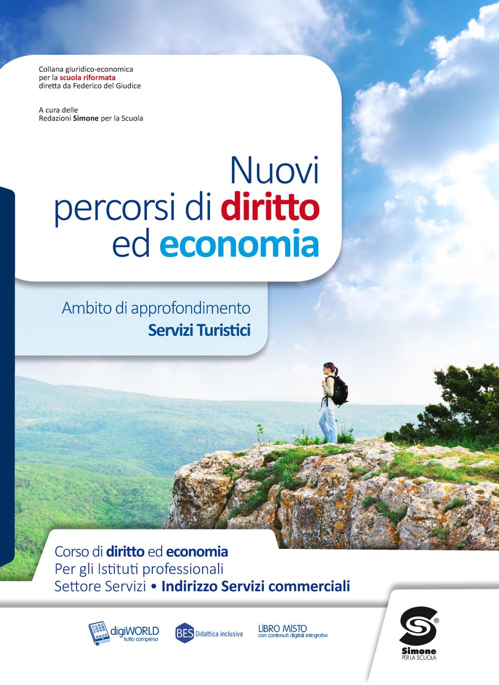 Nuovi percorsi di diritto ed economia ambito di for Buono per servizi turistici