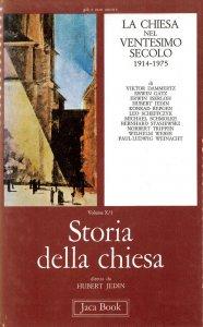 Copertina di 'Storia della Chiesa [vol_10] / La Chiesa nel ventesimo secolo (1914-1975)'
