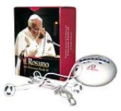 Il rosario elettronico con Giovanni Paolo II (con cuffia e altoparlante)