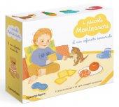 I piccoli Montessori. Il mio cofanetto sensoriale. Con 20 carte ambientali. Con 5 carte tattili - Delphine Roubieu
