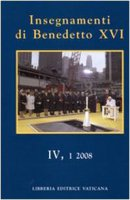Insegnamenti di Benedetto XVI - Benedetto XVI