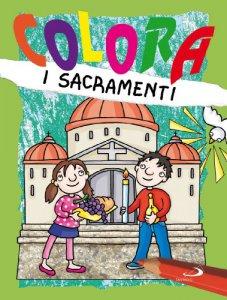 Copertina di 'Colora i sacramenti'