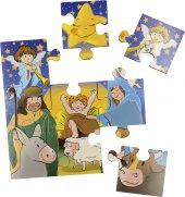 """Immagine di 'Puzzle """"Nove piccoli passi per la tua Novena di Natale"""" - dimensioni 14,5x14,5 cm'"""