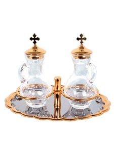 Copertina di 'Servizio ampolline in cristallo'