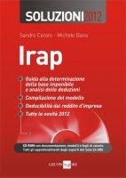 Irap - Soluzioni 2012 - Sandro Cerato, Michele Bana