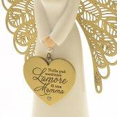 Immagine di 'Statuetta angelo 'Amore di mamma''