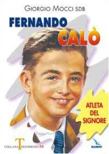 Copertina di 'Fernando Calò. Atleta del Signore'