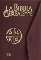 La Bibbia di Gerusalemme (copertina in plastica con bottone)