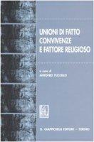 Unioni di fatto, convivenze e fattore religioso