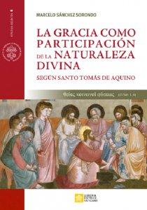 Copertina di 'La gracia como participation de la naturaleza divina'