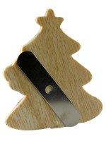 Immagine di 'Calamita a forma di alberello di Natale - dimensioni 5,3x6 cm'
