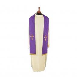 Copertina di 'Stola viola con croce stilizzata'