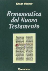 Copertina di 'Ermeneutica del Nuovo Testamento'