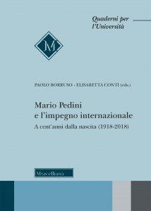 Copertina di 'Mario Pedini e l'impegno internazionale'