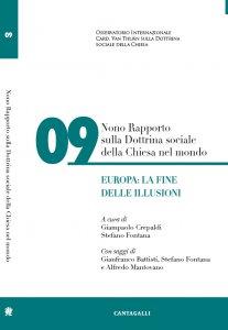 Copertina di 'Nono rapporto sulla dottrina sociale della Chiesa nel mondo'