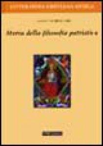 Copertina di 'Storia della filosofia patristica'