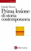 Prima lezione di storia contemporanea - Claudio Pavone