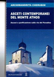 Copertina di 'Asceti contemporanei del monte Athos'