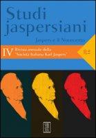 Studi jaspersiani. Rivista annuale della società italiana Karl Jaspers (2016)