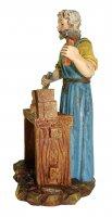 Immagine di 'Statuine presepe: Falegname al banco di lavoro Martino Landi per presepe da cm 12'