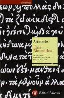 Etica Nicomachea. Testo greco a fronte - Aristotele