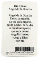 Immagine di 'Card Angelo Custode in PVC - misura 5,5 x 8,5 cm - Spagnolo'