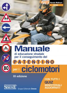 Copertina di 'Manuale di Educazione Stradale per il conseguimento del Patentino per i Ciclomotori'