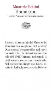 Copertina di 'Homo sum. Essere «umani» nel mondo antico'
