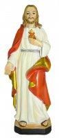 Statua del Sacro Cuore di Gesù da 12 cm in confezione regalo con segnalibro