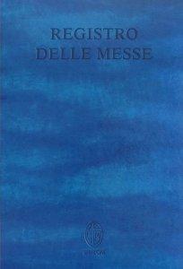 Copertina di 'Registro delle Messe'